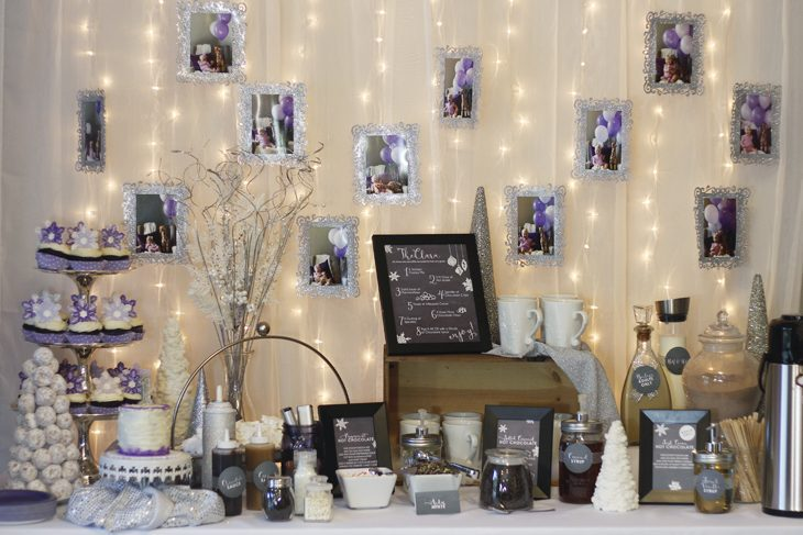 Hot Chocolate bar party favors image