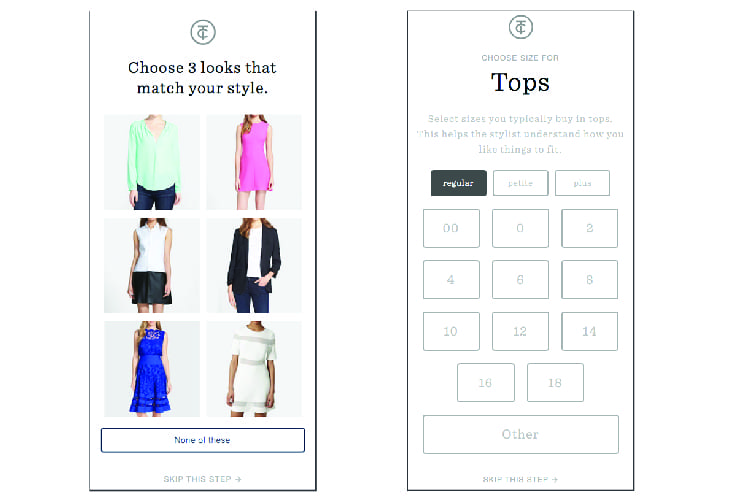 Choose your style, select your sizes, then meet your personal stylist. It's as easy as that! Find out how you can get clothes handpicked for you from a stylist mailed directly to your home for FREE. Choose your style to get started!