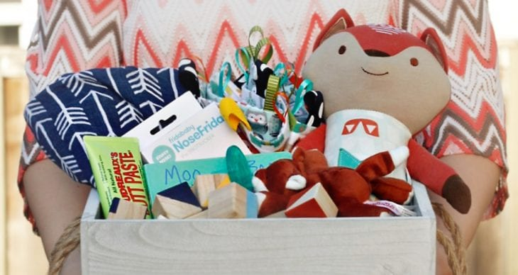 Make the ultimate baby shower gift basket with these 9 essential items every new mom needs, whether they know it or not.