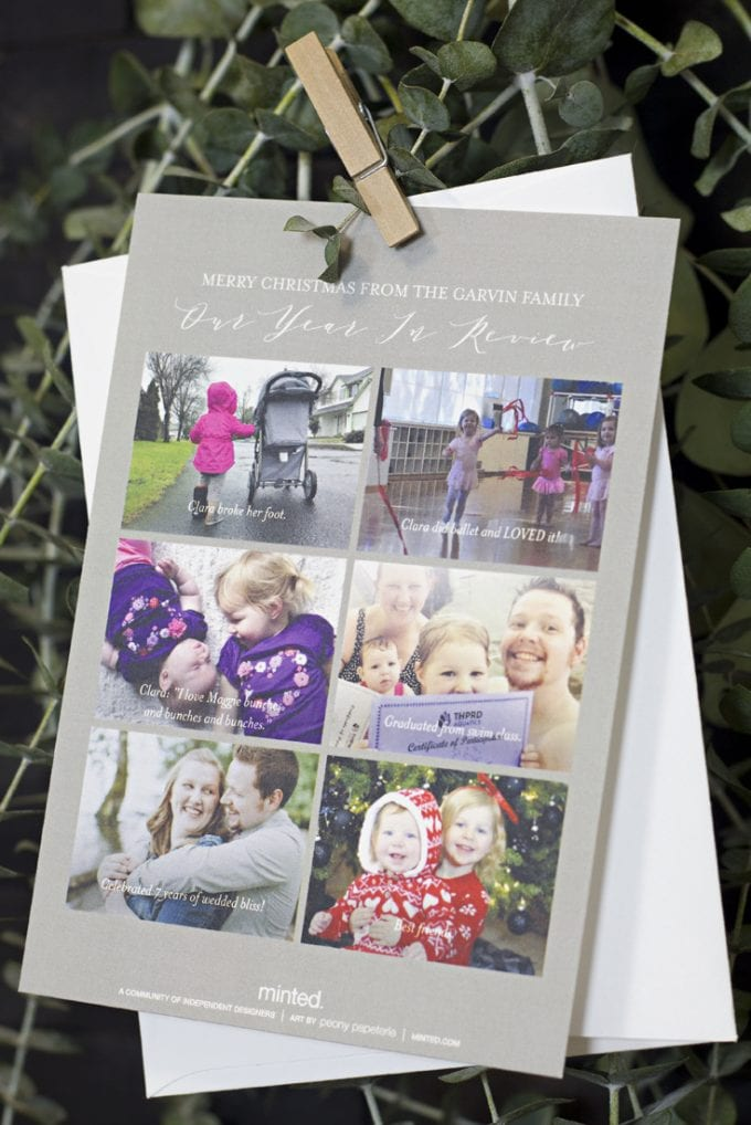 Memorable images complied in the card image.