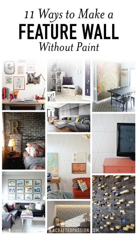 Feature walls without paint image