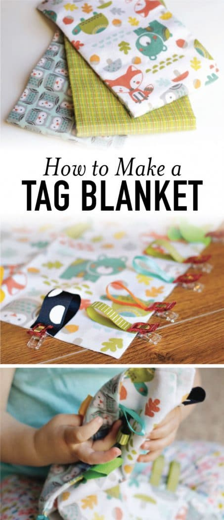 How to make a tag blanket image.