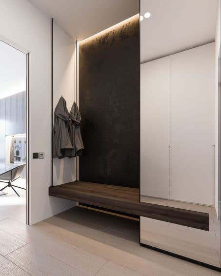 Modern Entryway Decor from Home Designing