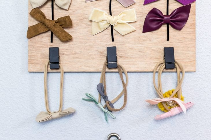 Image of hair bow holder