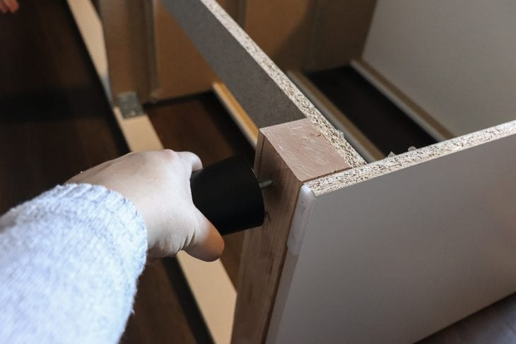 Ikea Malm Dresser Makeover, How To Put Legs On Malm Furniture