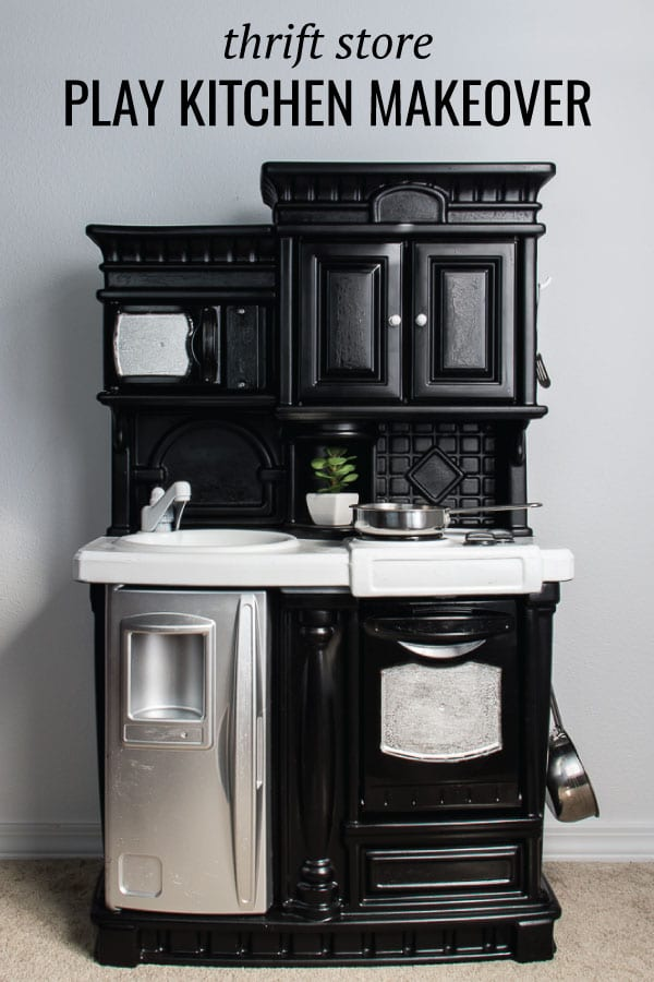 Image of Play kitchen makeover