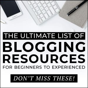 The Ultimate List of Blogging Resources