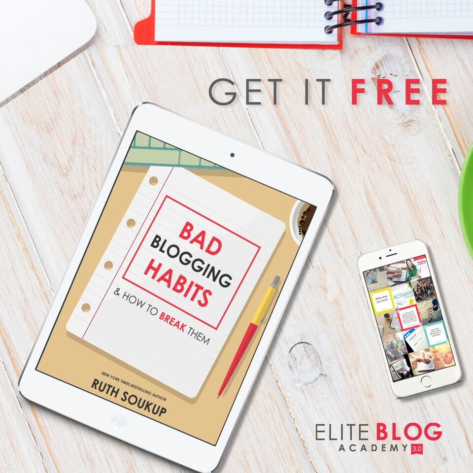 Free bad blogging habits and how to break them ebook