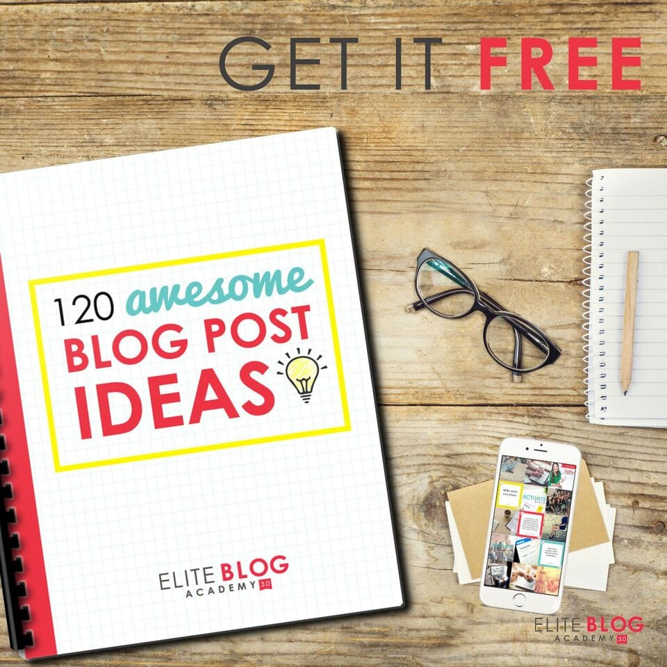 Download these 120 Awesome Blog Post Ideas