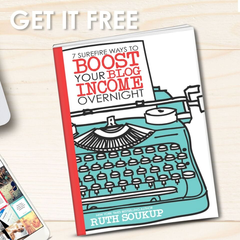 Boost Your Blog Income Overnight Free Ebook