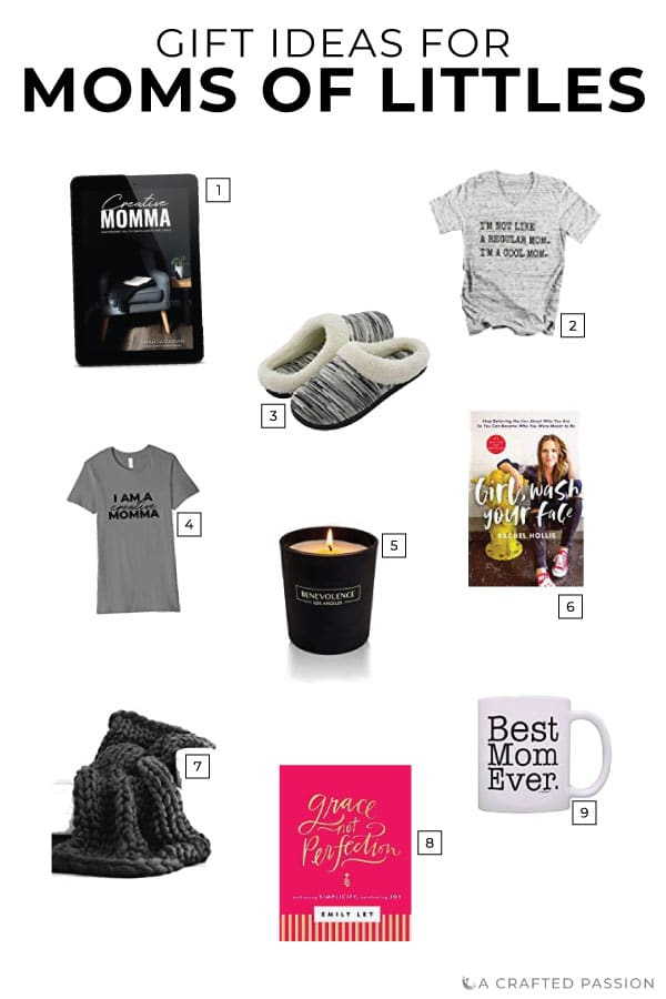 Struggling to figure out what to get the busy mom of littles on your list? Mommas with young kids often put herself last, struggle to find time for herself, and need a reminder to make herself a priority. Check out these gifts for busy moms or dad's...use this gift guide to figure out what to get mom for Christmas this year.#giftideas #giftguide #giftsformom