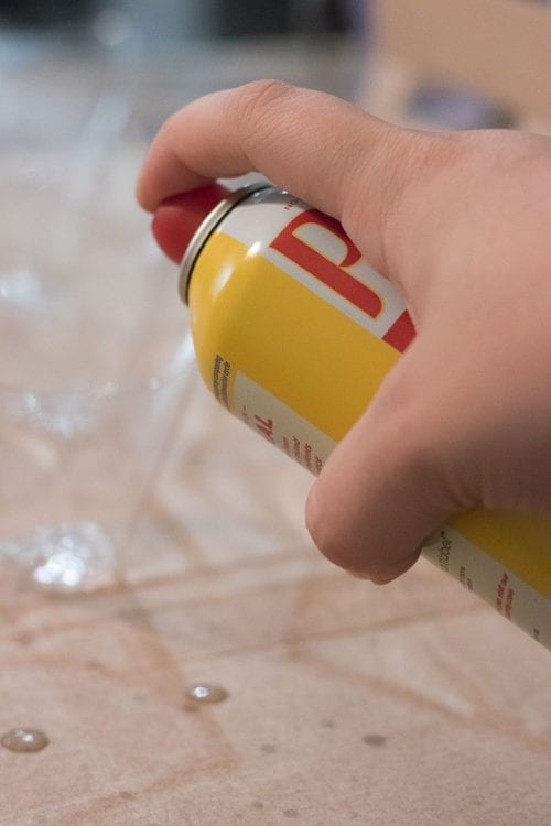 Image of cooking spray