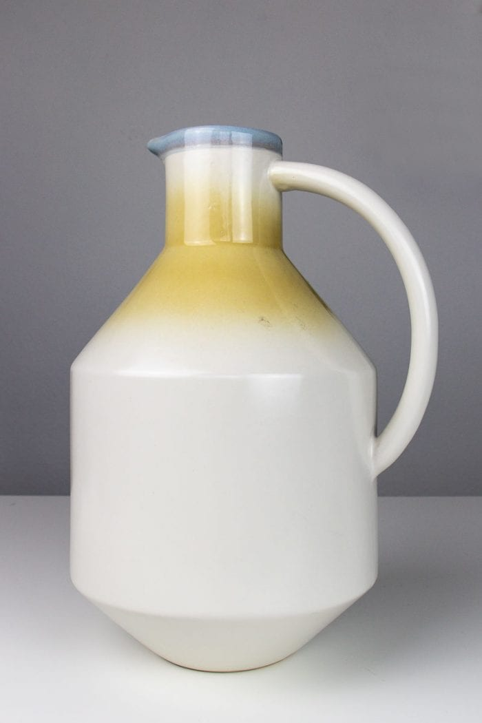 Image of stoneware jug makeover before